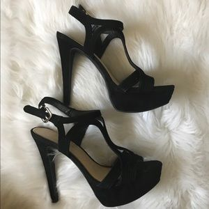 Jessica Simpson Platform Heels Black